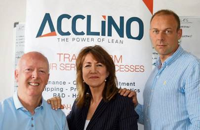 Startup helps firm Acclino-tise to new trading approach.