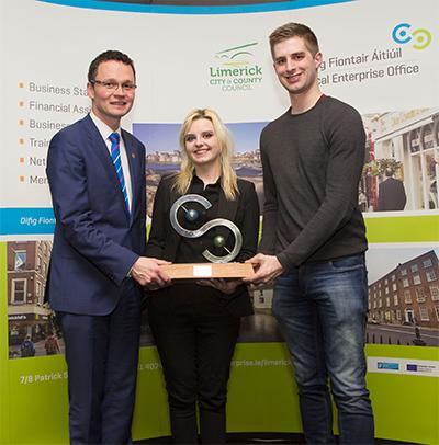 CDK Technology for winning Limerick's IBYE Award Best New idea Pre-Trading