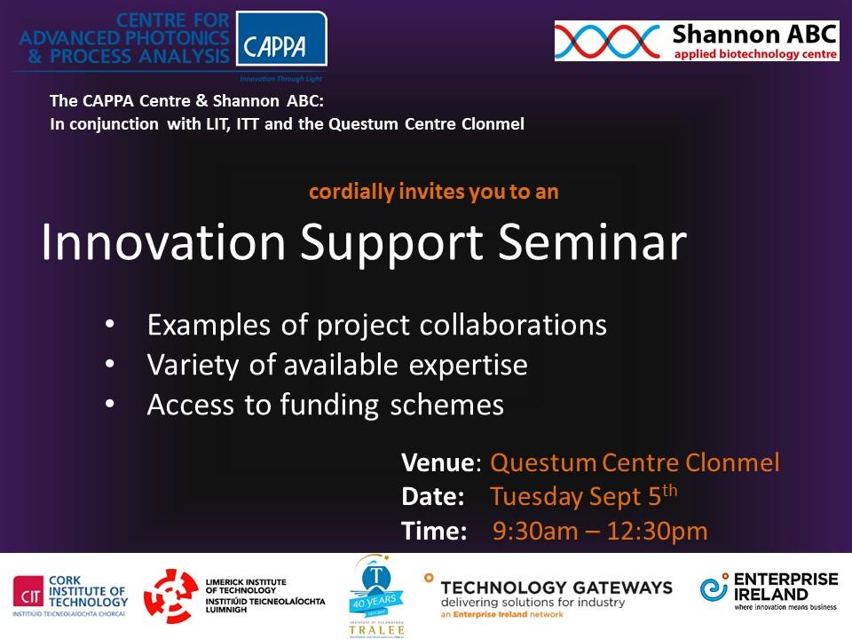 Innovation Support Seminar 2017
