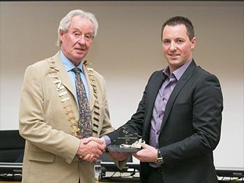 Gylnn Technical Diamonds won best established business 2015