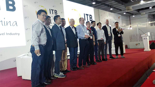 Golf Voyager win the ITB China award in Shanghai