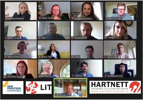 The Hartnett Centre is delighted to welcome 14 participants to this years New Frontiers Phase 2 Programme