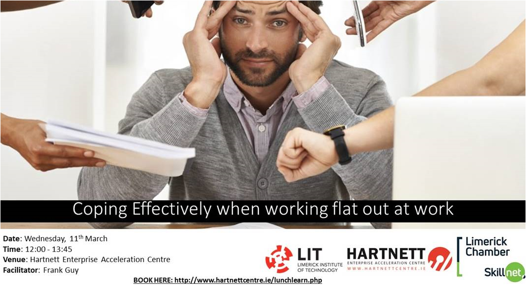 Lunch & Learn Series at the Hartnett Centre