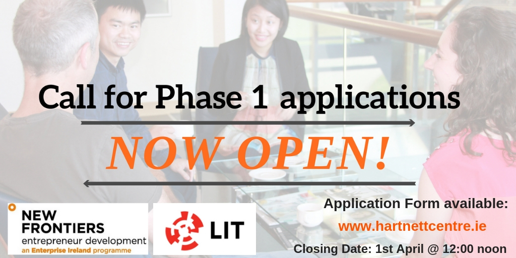 LIT Phase 1 Call for Applications Opens