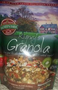 Rigney's Granola received stars at the great taste awards