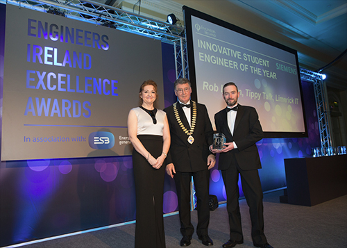 Tippy Talk Engineers Ireland Excellence Awards 2015