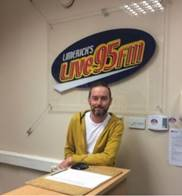 Rob Laffan interviewed on Limerick Today on Live95FM