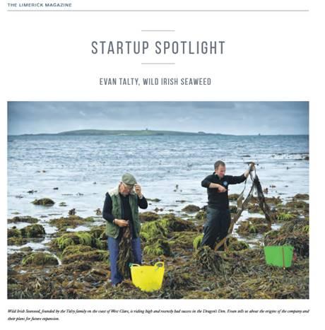 The Limerick Magazine - Startup Spotlight – Evan Talty