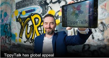 The Business Post - Tippy Talk has global appeal