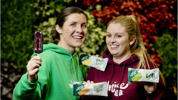 Guilt-free summer treats? Two Irish women make 'cold pressed juice on a stick'
