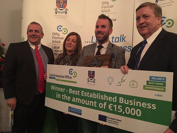 Wild Irish seaweed win Best Established Business in the County Clare IBYE Awards
