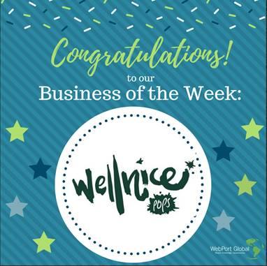 WebPort Global name Wellnice Pops Business of the week
